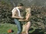 Retro Brother Sister Have Sex Outdoors