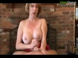 Mother Helps Son Cum