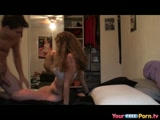 Schoolgirl Rides My Dick And Gets A Creampie