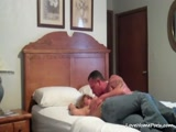 Really hot blonde cougar fucked hard by her buffed up lover