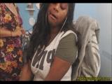 Super Sloppy BJ By Busty Black Chick