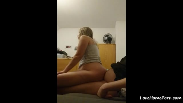 Homemade Cowgirl Sex Action