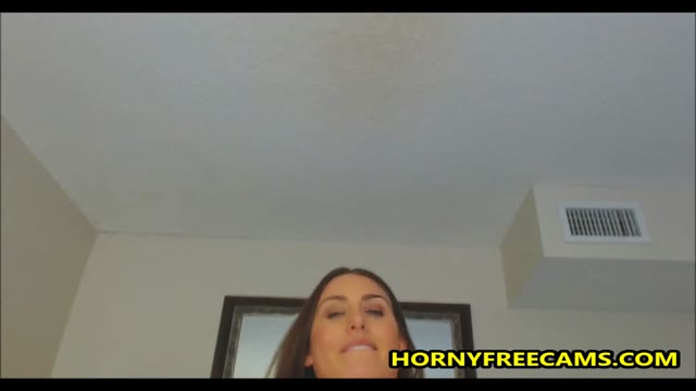 Brunette Mom Milk Tits And Fucks Dildo Hardcore