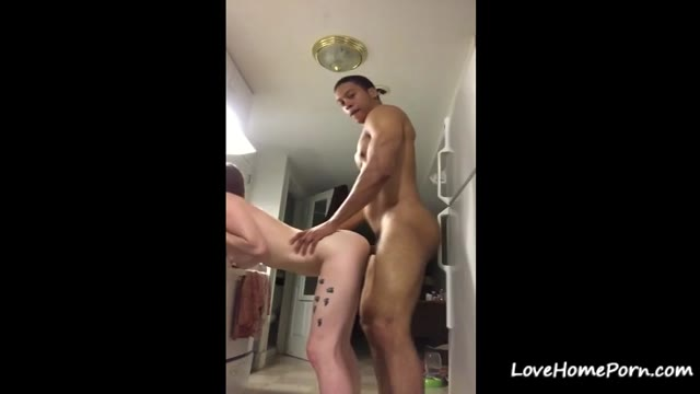 She Loves Doggystyle Fuck In The Kitchen