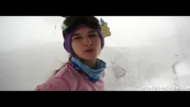 Anal Fuck On Vacation With Ski Instructor