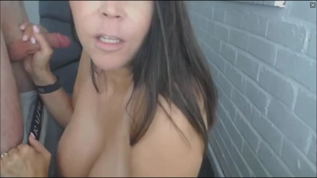 Busty MILF Enjoys Sucking Her Husbands Big Fat Cock