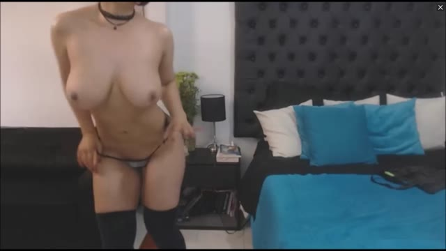 Wild Busty Big Ass Latina Fucks Dildo Deep And Hard