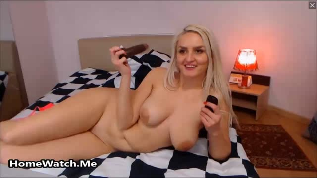 Amateur Milf Blonde Has Fun On Camera