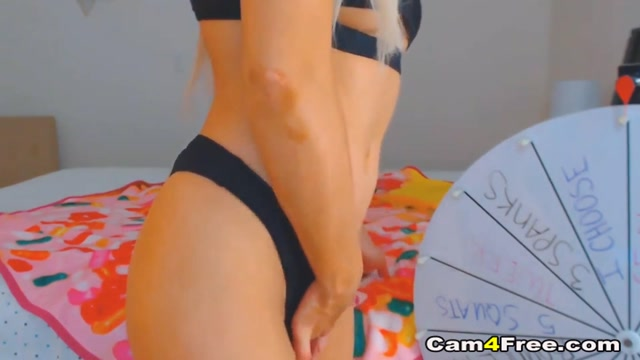 One Hot Pussy Masturbating Blonde